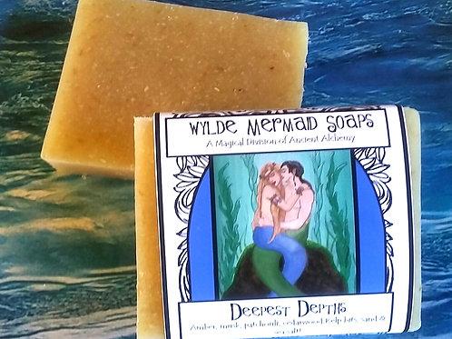 Wylde Mermaid Soap - Deepest Depths