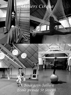 Ecole de cirque 38 Bourgoin Jallieu