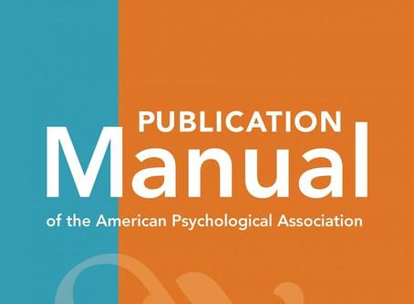 APA, la 7ª edición
