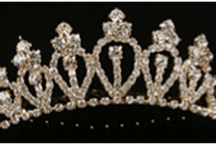 MIMY Design Gold Tiara