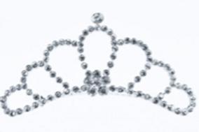 MIMY Designs Silver Tiara