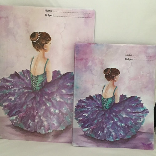 Dancers A4 and A5 Book Covers