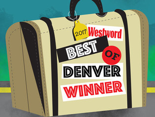 """""""Best Ice Cream Shop"""" - Westword 2017"""