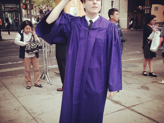 Graduation Ceremony! (almost a year later)