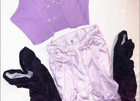 Stacked leggings Matching Set