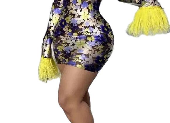 Pop out Dress
