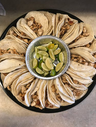 Chicken Taco Tray