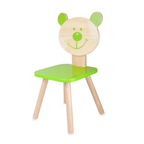 Classic World Stuhl Bär grün