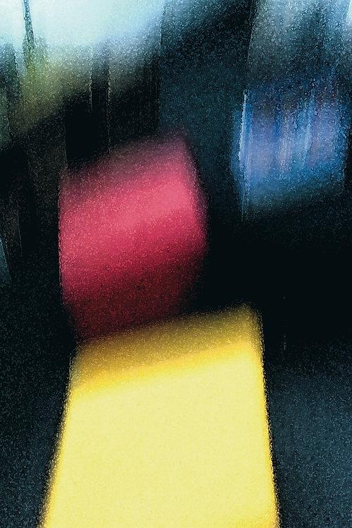 """Kunstkarte A5 """"Farbenspiel"""""""