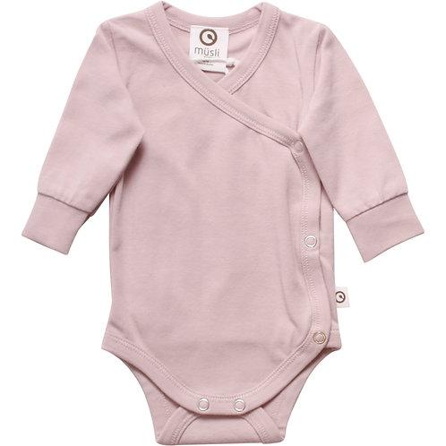Mini me Body Rose Gr.44 für Frühchen und kleine Baby by Green Cotton Müsli