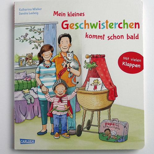 """Pappbilderbuch """"Mein kleines Geschwisterchen kommt schon bald"""""""