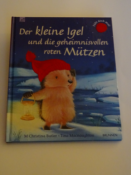 """Bilderbuch """"Der kleine Igel und die geheimnisvollen roten Mützen"""""""
