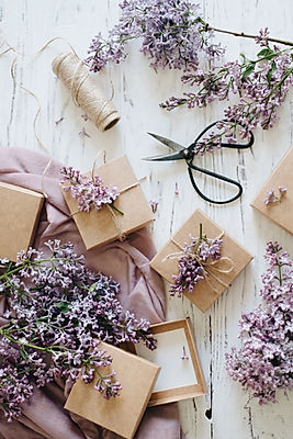 Geschenkservice Lilavendel