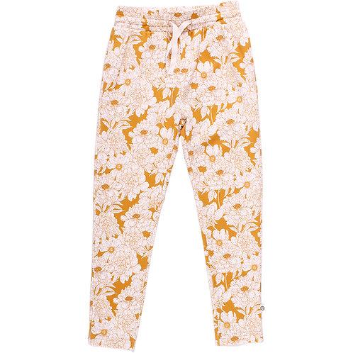 Green Cotton Müsli Floral Pants