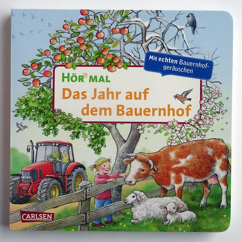 """Pappbilderbuch Hör mal """"Das Jahr auf dem Bauernhof"""""""