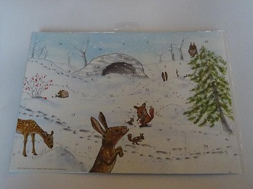 """Adventskalender """"Spuren im Schnee"""""""