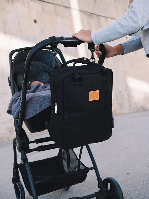 My Bag`s Grosser Rucksack Eco schwarz