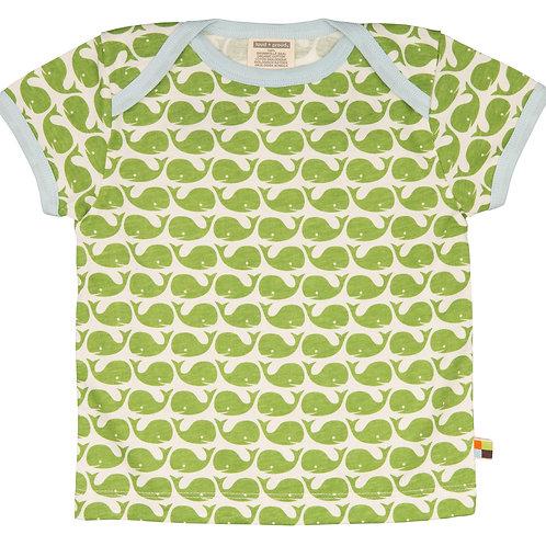 Loud and Proud T- Shirt kurzarm Wal Moos