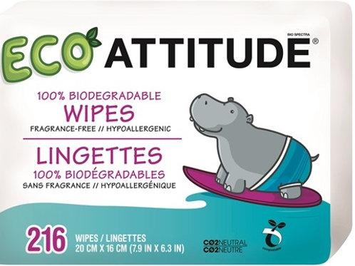 Attitude Eco Feuchttücher 216Stk.