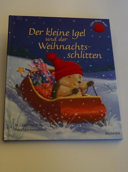 """Bilderbuch """"Der kleine Igel und der Weihnachtsschlitten"""""""