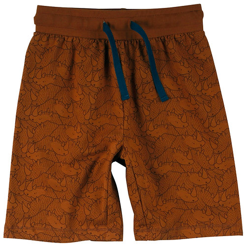 Rhino- Nashorn Shorts- kurze Hose Ocker by Green Cotton Müsli