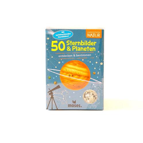 50 Sternbilder & Planeten entdecken und bestimmen