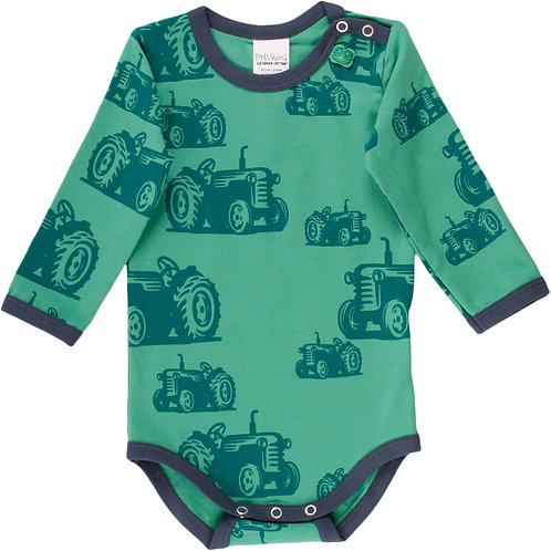 Green Cotton Fred s World Farming Body