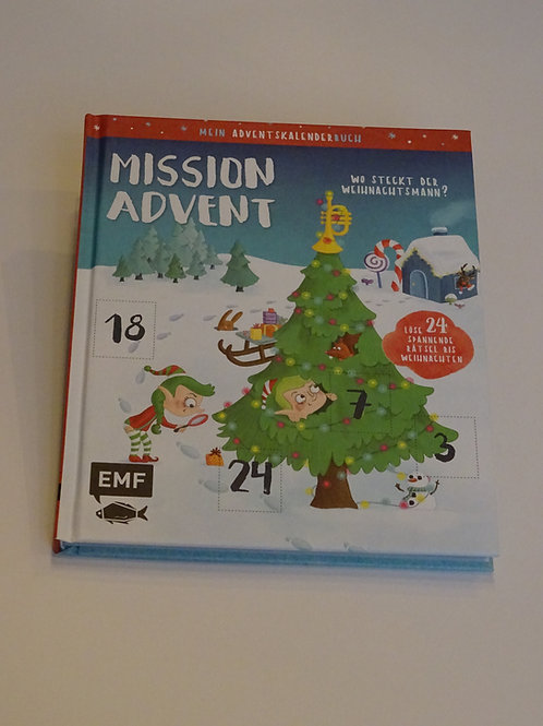 "Adventskalenderbuch ""Mission Advent"""