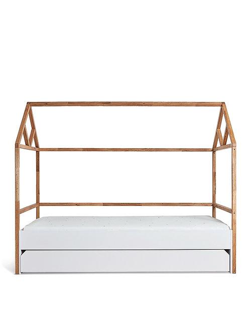 Bisal Kinderbett mit Schublade Lotta 90x200cm weiss