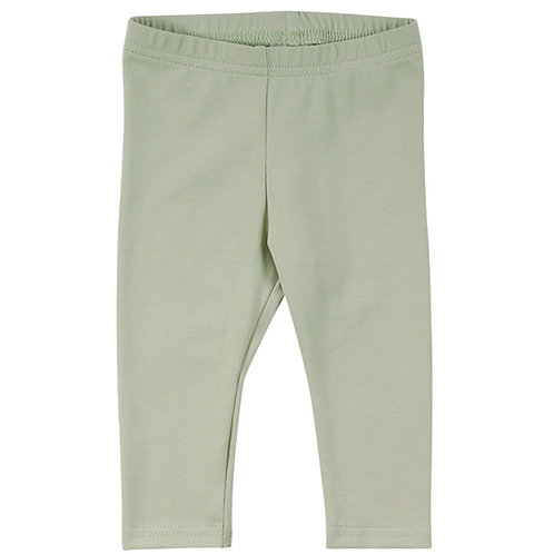 Alfa Leggings Baby Pale moss by Green Cotton Freds World