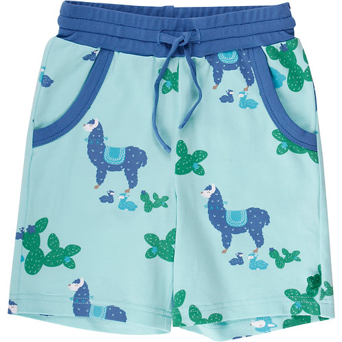Green Cotton Fred s World Lama Shorts blau