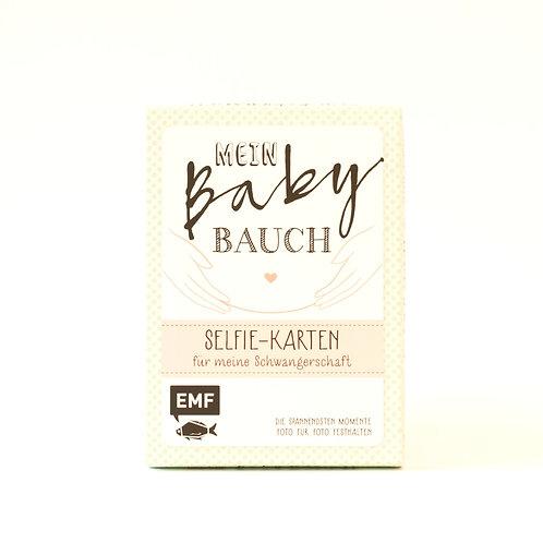 Mein Baby Bauch Selfie- Karten für meine Schwangerschaft