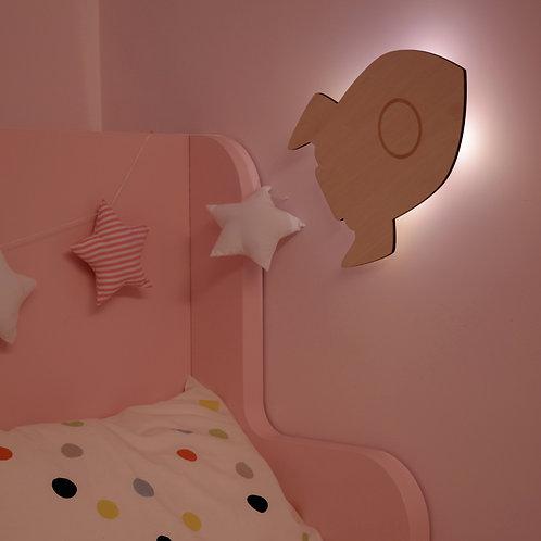 REER Nachtlicht lumilu SilhouetteLight Rakete