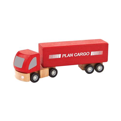 Plan Toys Plan World Cargo Lastwagen