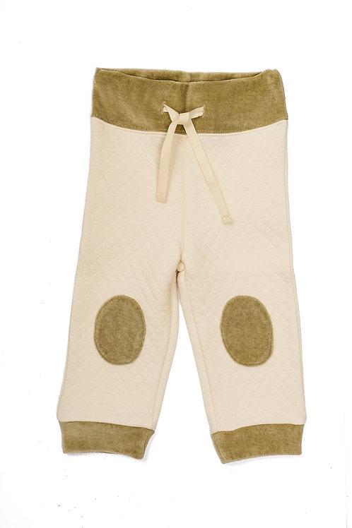 Hose mit Patches aus Bio Baumwolle Pamboo