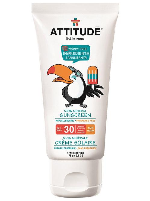 Attitude Sonnencreme SPF 30 75g