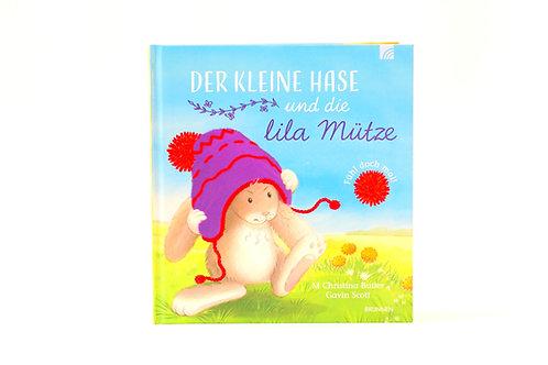 Bilderbuch der kleine Hase und die lila Mütze