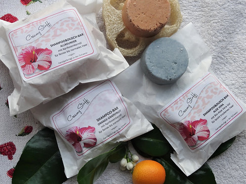 Creamy Stuff Shampoo Bar, diverse Duftnoten, klein 45 g, gross 85 g