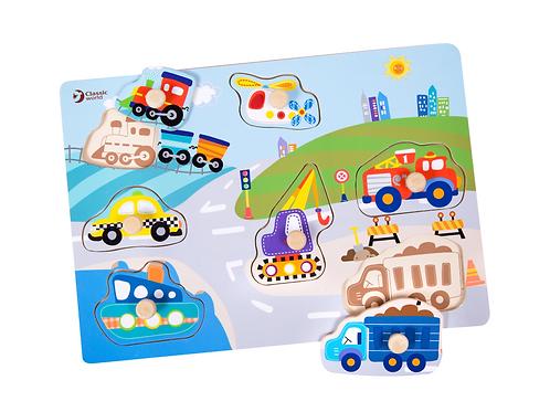 Classic World Puzzle Verkehr