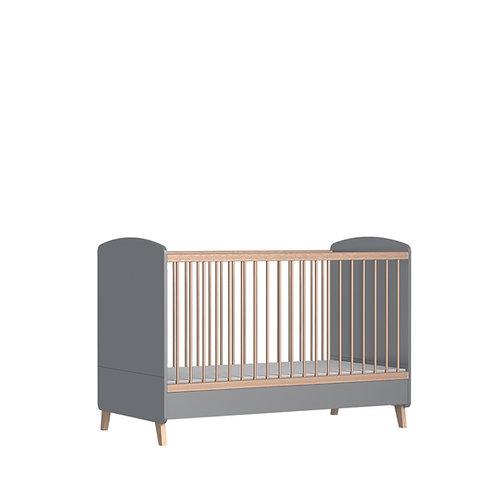 Bisal Kinderbett Colette grau 70x140