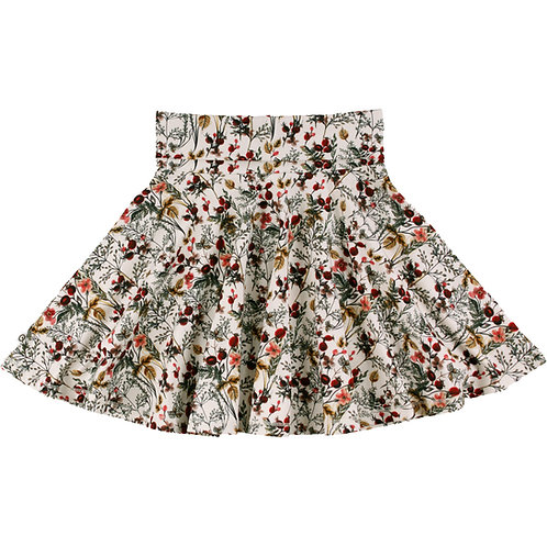 Winter Flower Rock- Skirt by Green Cotton Müsli