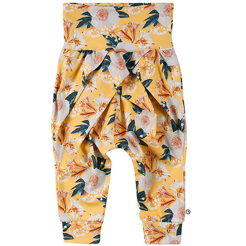 Green Cotton Müsli Bloom Pants Sun
