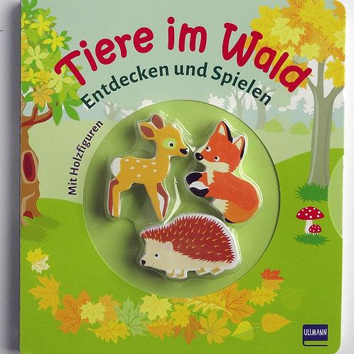 """Pappbilderbuch """"Tiere im Wald"""" Entdecken und spielen"""