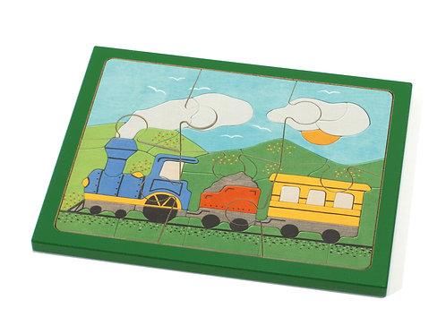"""Weizenkorn Puzzle""""Dampfbahn"""""""