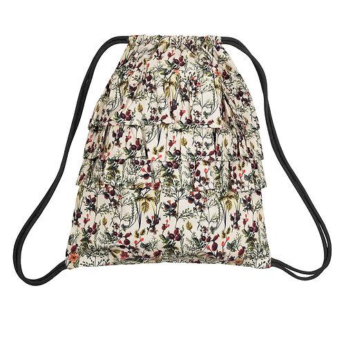Winter Flower Bag-Rucksack by Green Cotton Müsli