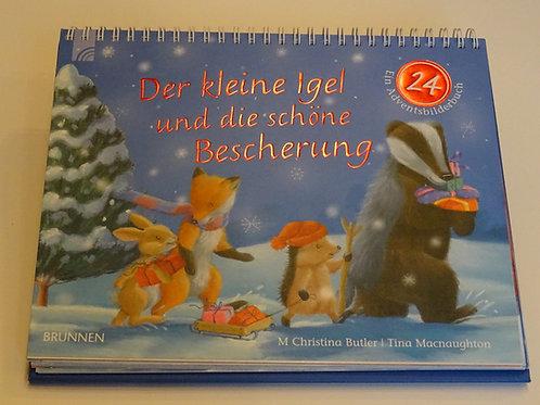 """Adventskalender """"Der kleine Igel und die grosse Bescherung"""""""