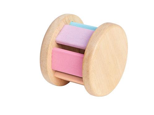 Plan Toys rollende Rassel pastell