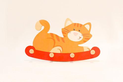 Weizenkorn Garderobe Katze
