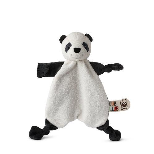 WWF Panda Club Plüsch Kuscheltier/ Schnullerhalter Panda