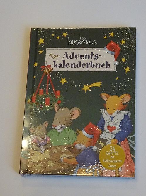 """Adventskalender Buch """"Leo Lausemaus"""""""